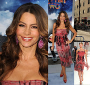 Sofia Vergara In Carolina Herrera'Happy Feet Two' Premiere