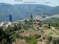 Panoràmica de Cal Cebrià i el Pou de les Cabanasses