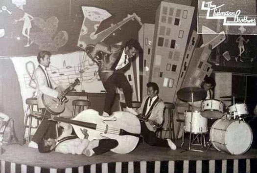 The Tielman Brothers - First Rock Band in The World