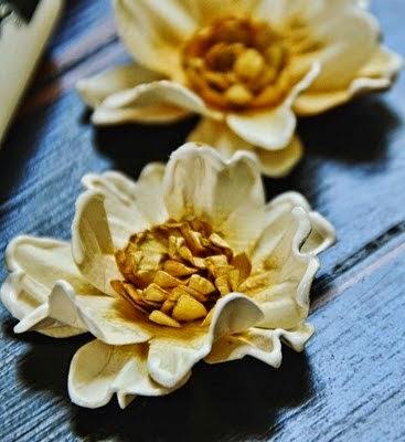 Разные МК изготовления  цветочков