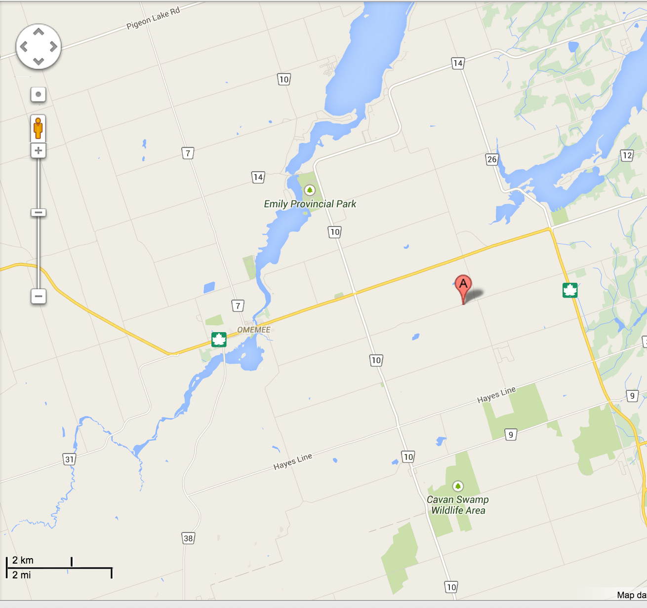 image Omemee Scouting Rainbarrel Sale Map see link below