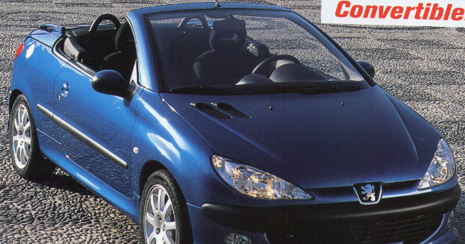four wheel drive magazine prueba peugeot 206 cc 2 0 16v 2001. Black Bedroom Furniture Sets. Home Design Ideas