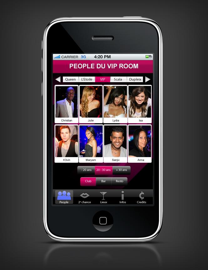 site rencontre iphone