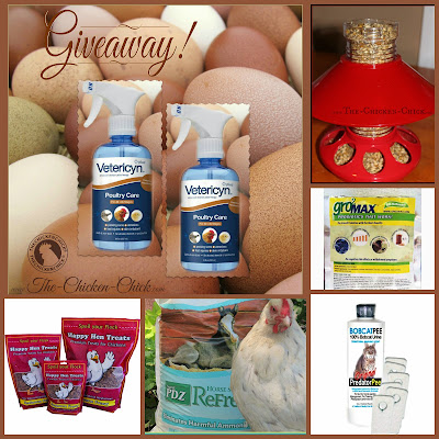 MOST EGGCELLENT GIVEAWAY at www.The-Chicken-Chick.com
