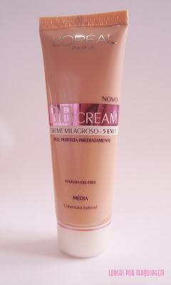 Maquiagem BB Cream Loreal