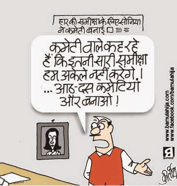 congress cartoon, sonia gandhi cartoon, election 2014 cartoons, cartoons on politics, indian political cartoon