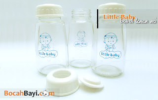 Botol ASI Kaca Little Baby, botol kaca standard