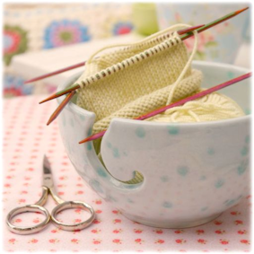 ♡ My yarn bowl..find it here...