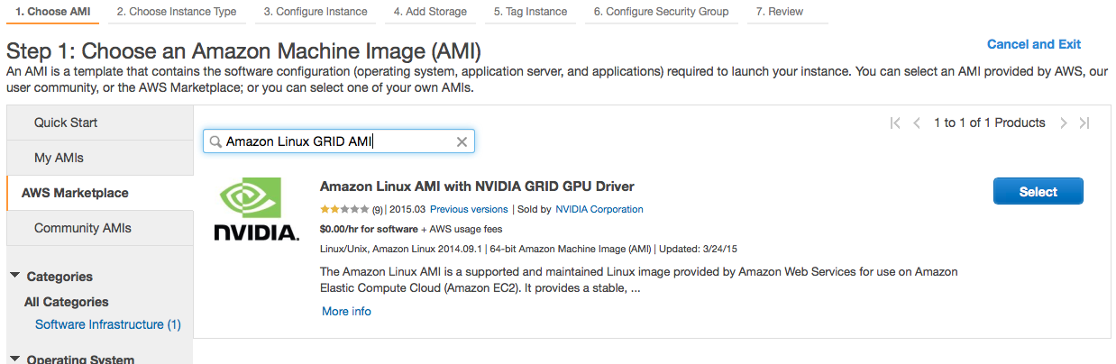Getting Started On AWS AMI (Amazon Machine Images)