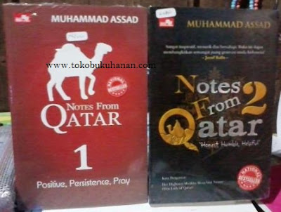 Buku : Notes From Qatar 1 – 2 : Muhammad Assad