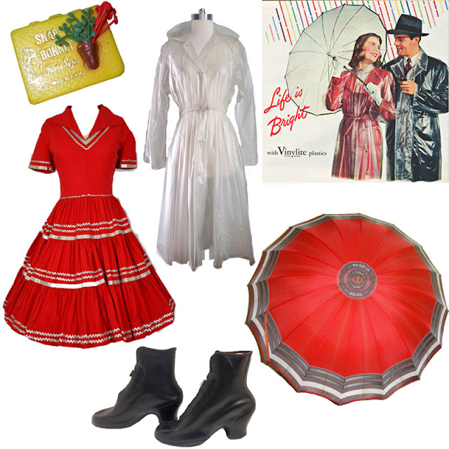Flashback Summer:  Rainy Spring Wish Outfit