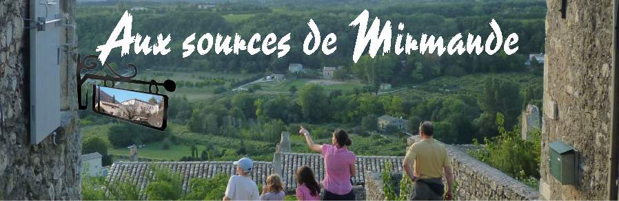 Aux sources de Mirmande