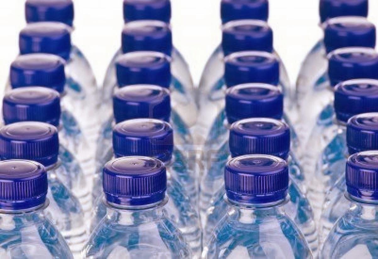 ásványvíz tisztított víz