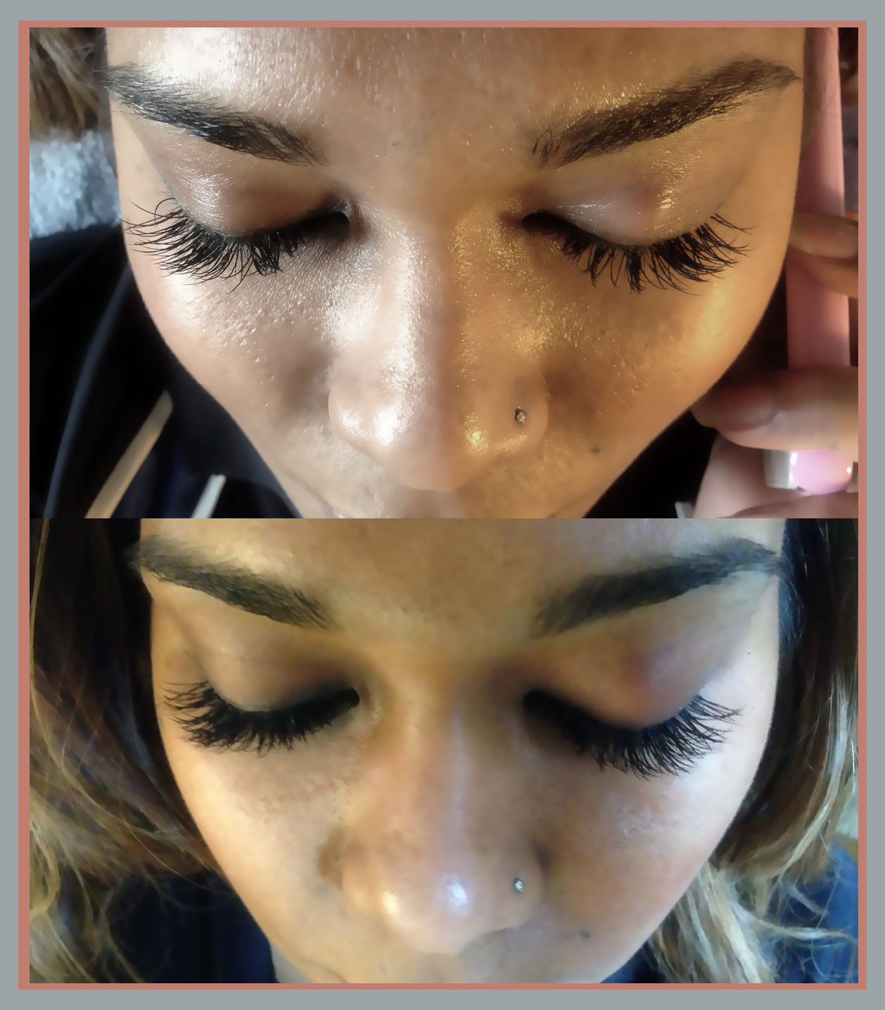 Luxe Lash Top Up Bad Eyelash Extension From Another Salon To Fix