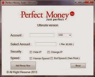 price 380 for 1 software perfect money adder 2014 activities in 1 year - Visa Debit Card Money Adder