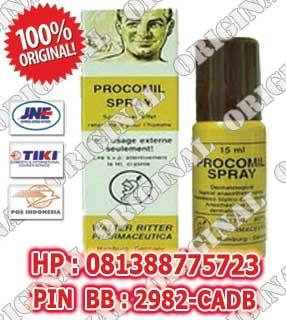 procomil spray, procomil, obat kuat semprot