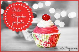 "Participo en el reto cupcake de ""en 60 m2"""