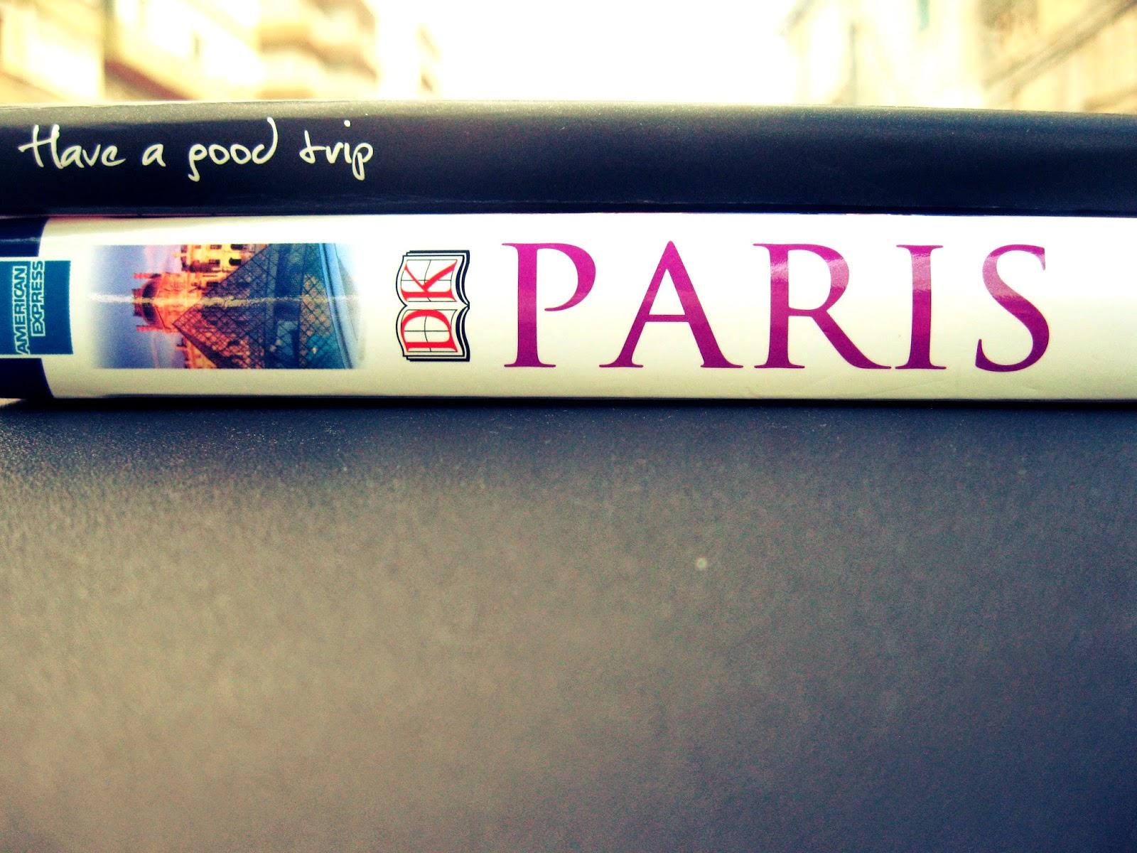 Paris vou a caminho!