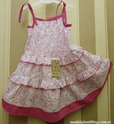 moda en vestidos para nenas verano 2014