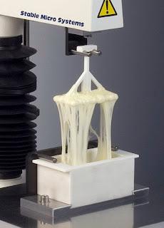 Analizador de Textura TA.XTPlus con sonda extensibilidad queso