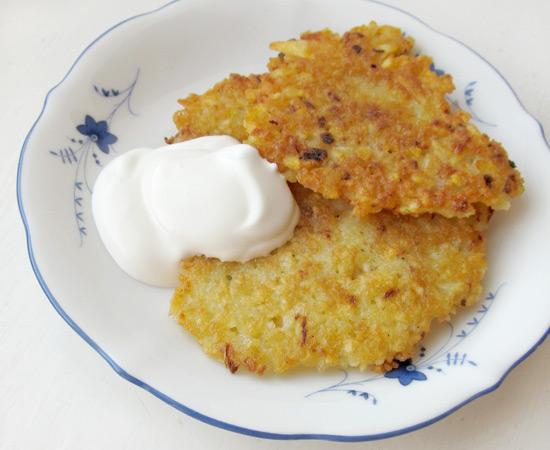 Potato pancakes, деруны, рецепт