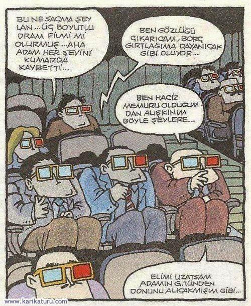 3 Boyutlu Dram Filmi Karikatürü