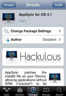 How To Jailbreak iPhone 4G AppSync-4.1