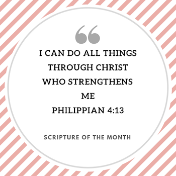 Scripture of the Month