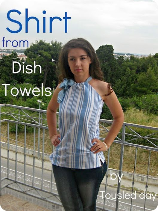 How quickly and easily make a blouse with a skirt