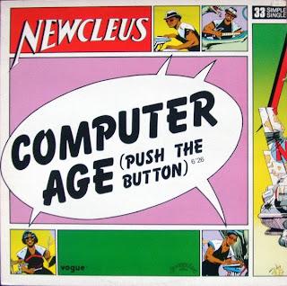 Newcleus - Computer age (Vinyl, 12\'\' 1984)(Sunnyview)