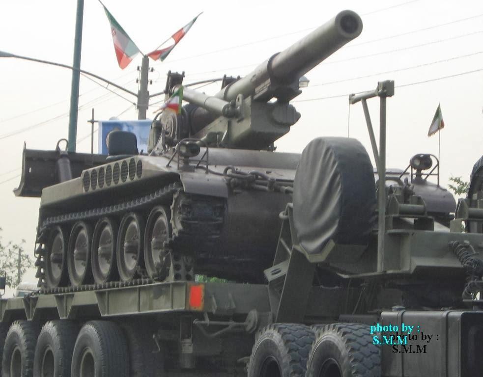 Fuerzas Armadas de Iran M110