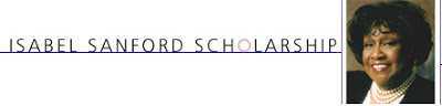 Isabel Sanford Los Angeles Scholarship