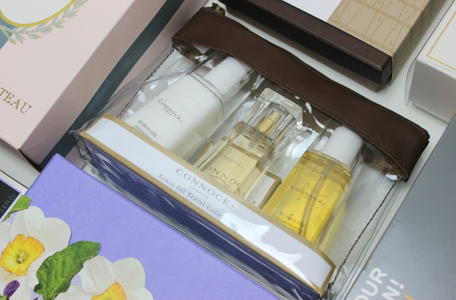 A picture of Connock London Kukui Oil Travel Collection