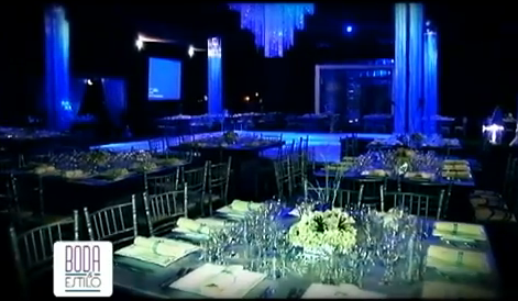 DECORACION DE BODA POR MANHATTAN CATERING Y FOREVER WEDDING PLANNER