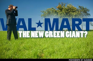 Sustainability and CSR are leading business like Walmart to plant trees and embrace greening
