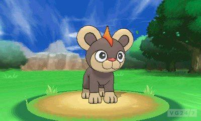 Pokémon X & Y: novos monstrinhos, trailer, imagens, personagens e o primeiro ginásio Litleo_H_lionceau_Leufeo_screenshot_1