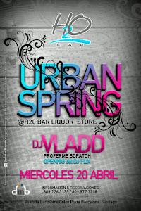DJ VLADD @ H2O MIERCOLES 20 DE ABRIL 2011
