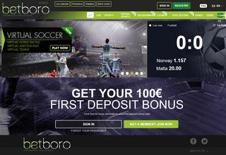 BetBoro Screen