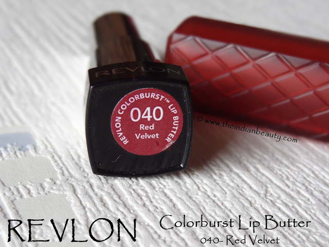 revlon colorburst lip butter red velvet review