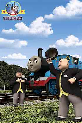 DVD Sir Topham Hatt stops at the railway single box and causes trouble diverting the main trainline