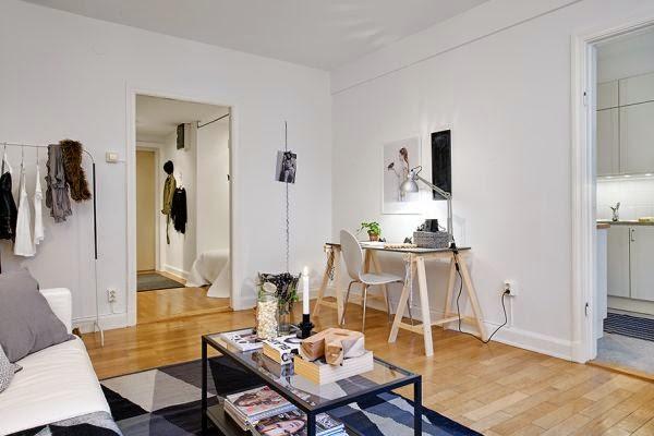 Blog wn trzarski design nowoczesne projekty wn trz for Apartment design 40m2