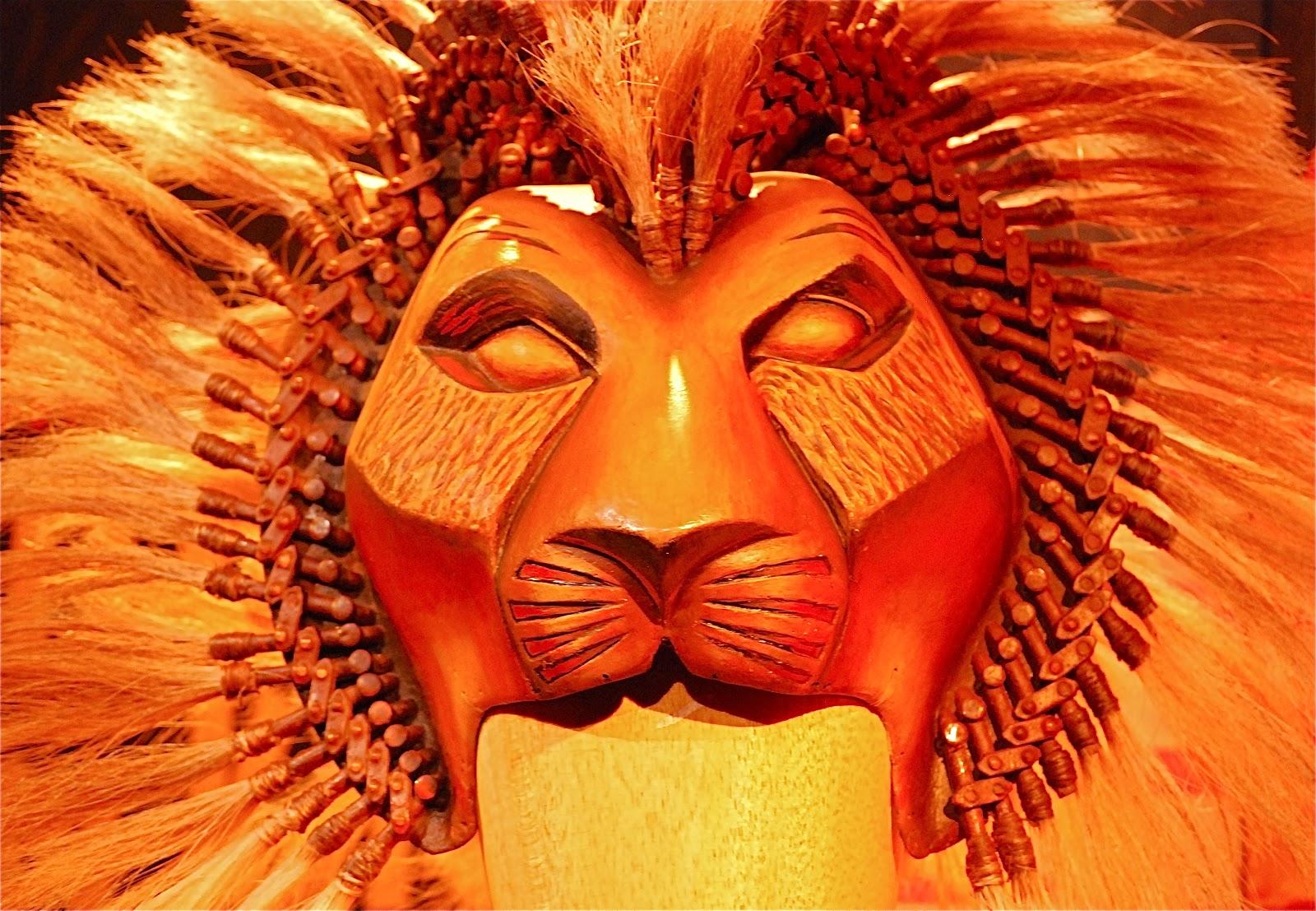 nyc  u2665 nyc  inside the lion king  a pop