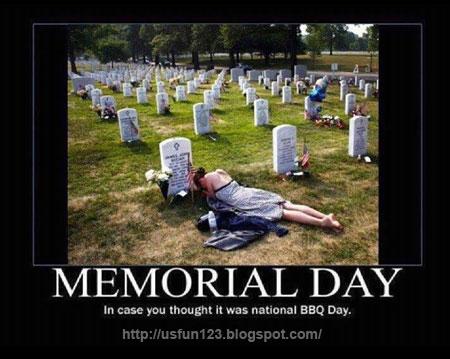 Memorial day funny