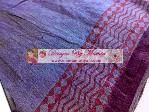 Bagh Print Saree