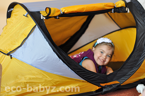 Another great travel product they carry that I absolutely love and maybe will try someday is the Go Pod. It is a lightweight portable activity seat.  sc 1 st  Eco-Babyz & Eco-Babyz: KidCo PeaPod Plus Travel Bed Review Sponsor Highlight