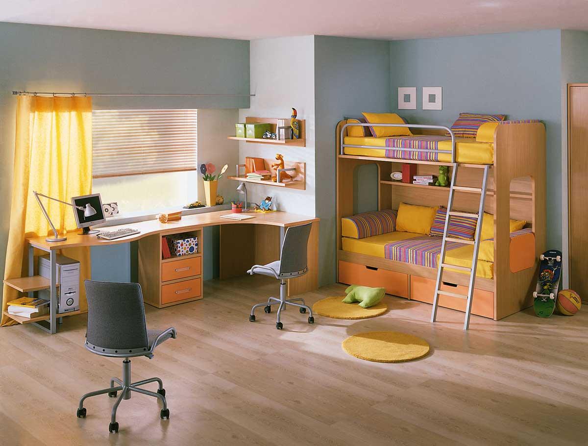 Kids Bedroom Furniture Sets For Girls Children Furniture Set Bunk Bed Children Bed Desk Chair Rolling