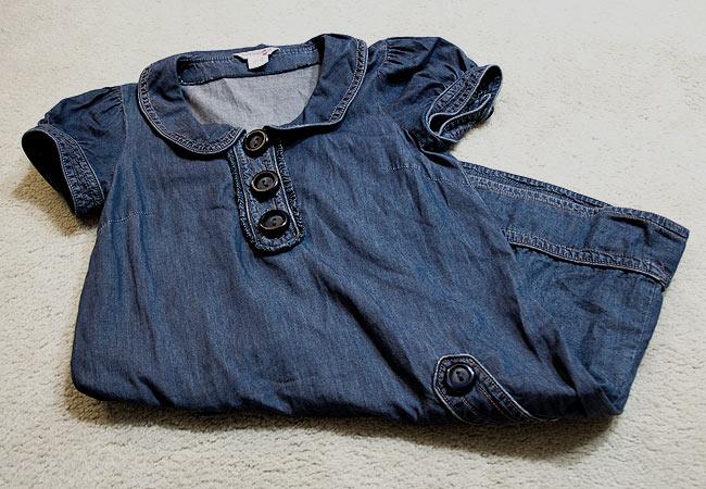 Kensie Girl Jean dress, Large button jean dress, Kensie Girl, Talize find