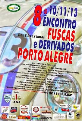8º Encontro de Fuscas e Derivados de Porto Alegre