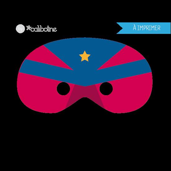 Diy by calibotine a imprimer trois masques de carnaval - Masque super heros imprimer ...