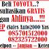 PROMO TOYOTA YASMIN BULAN APRIL 2015 ( AUTO2000 BOGOR YASMIN )